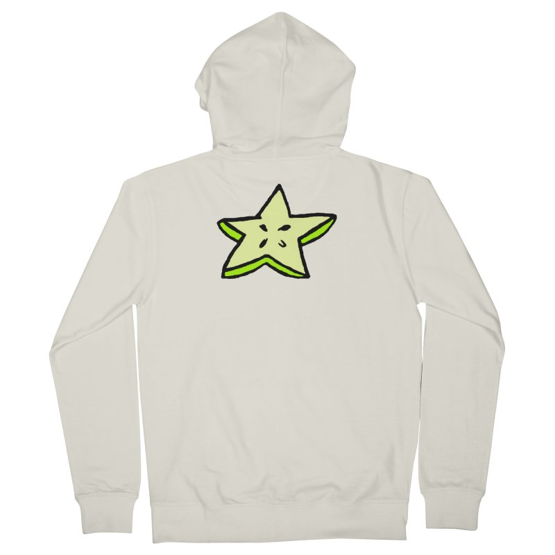 StarFroot Logo Full Color Men's French Terry Zip-Up Hoody by Strange Froots Merch