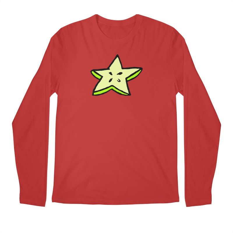 StarFroot Logo Full Color Men's Regular Longsleeve T-Shirt by Strange Froots Merch