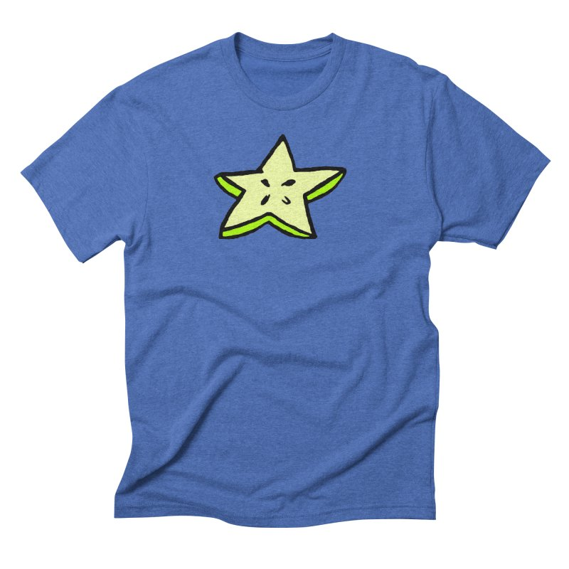 StarFroot Logo Full Color Men's Triblend T-Shirt by Strange Froots Merch