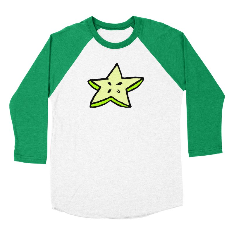 StarFroot Logo Full Color Women's Baseball Triblend Longsleeve T-Shirt by Strange Froots Merch