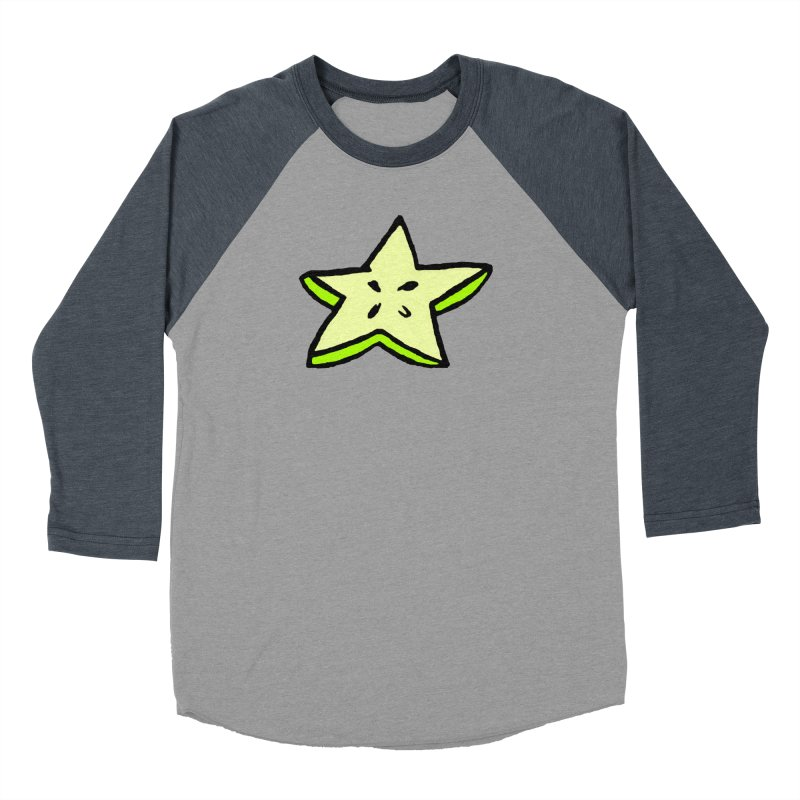 StarFroot Logo Full Color Men's Baseball Triblend Longsleeve T-Shirt by Strange Froots Merch