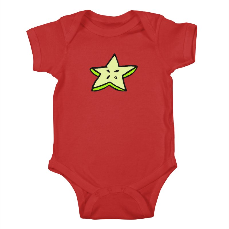 StarFroot Logo Full Color Kids Baby Bodysuit by Strange Froots Merch