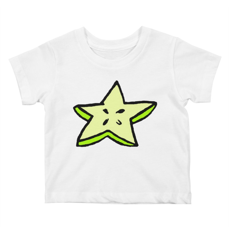 StarFroot Logo Full Color Kids Baby T-Shirt by Strange Froots Merch
