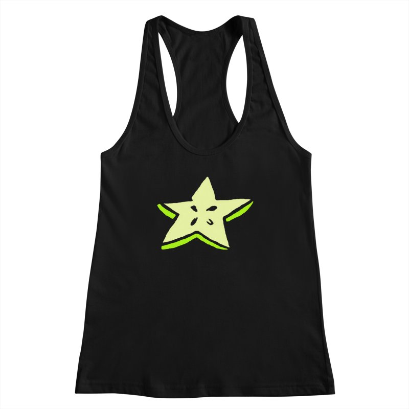 StarFroot Logo Full Color Women's Racerback Tank by Strange Froots Merch
