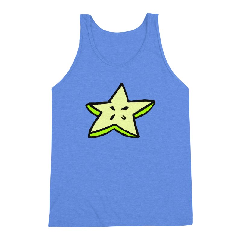 StarFroot Logo Full Color Men's Triblend Tank by Strange Froots Merch