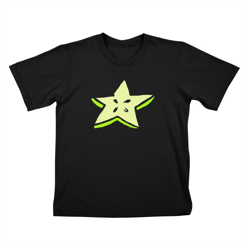 StarFroot Logo Full Color Kids T-Shirt by Strange Froots Merch