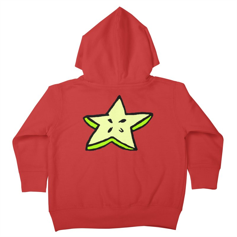 StarFroot Logo Full Color Kids Toddler Zip-Up Hoody by Strange Froots Merch