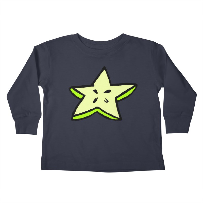 StarFroot Logo Full Color Kids Toddler Longsleeve T-Shirt by Strange Froots Merch