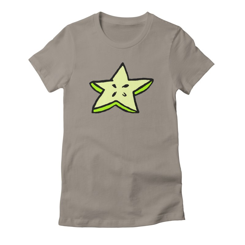 StarFroot Logo Full Color Women's Fitted T-Shirt by Strange Froots Merch