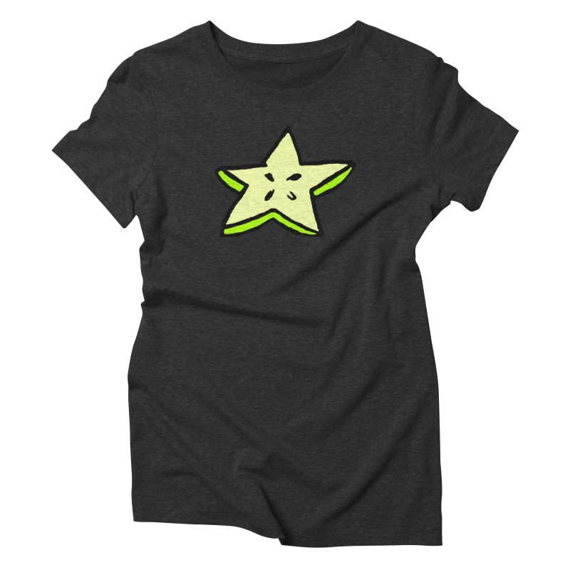 StarFroot Logo Full Color Women's Triblend T-Shirt by Strange Froots Merch