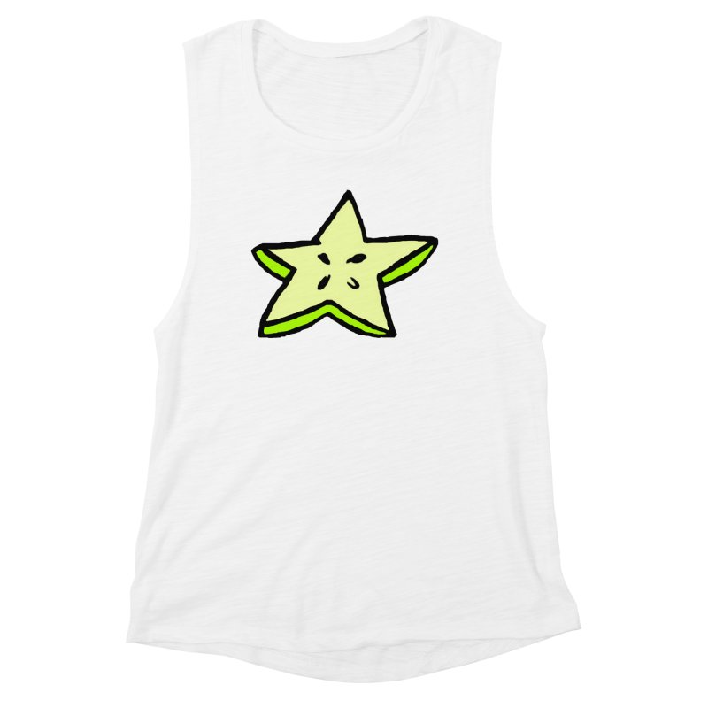 StarFroot Logo Full Color Women's Muscle Tank by Strange Froots Merch