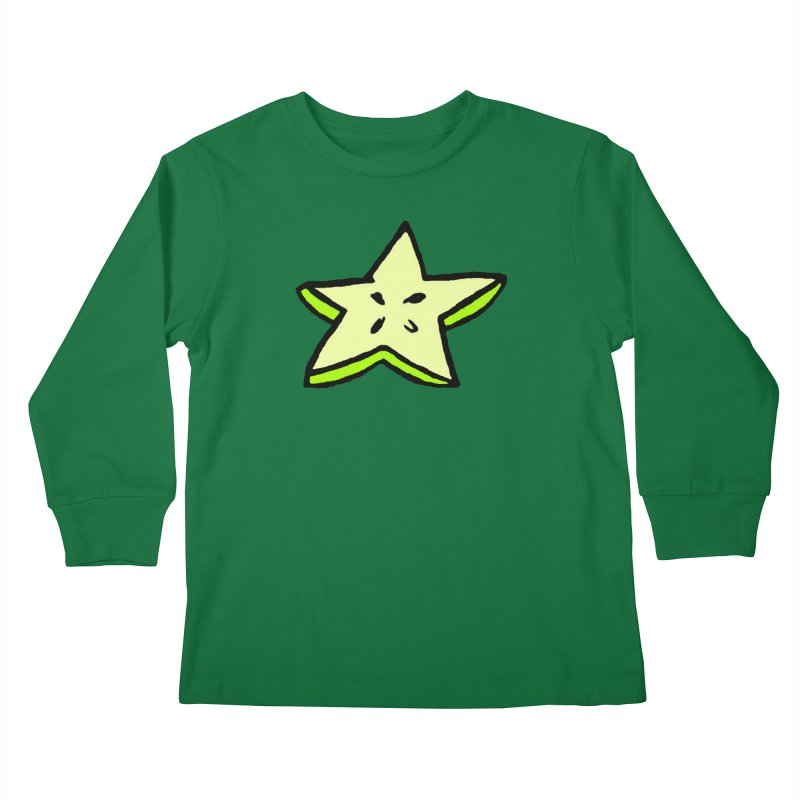 StarFroot Logo Full Color Kids Longsleeve T-Shirt by Strange Froots Merch