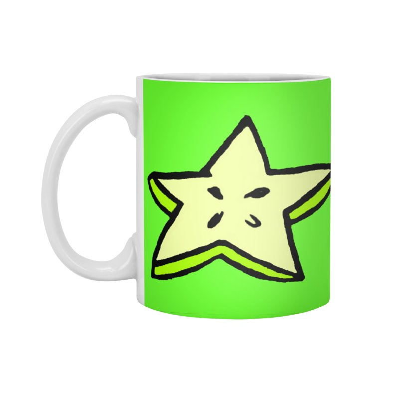 StarFroot Logo Full Color Accessories Standard Mug by Strange Froots Merch