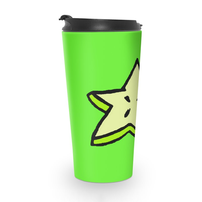 StarFroot Logo Full Color Accessories Travel Mug by Strange Froots Merch