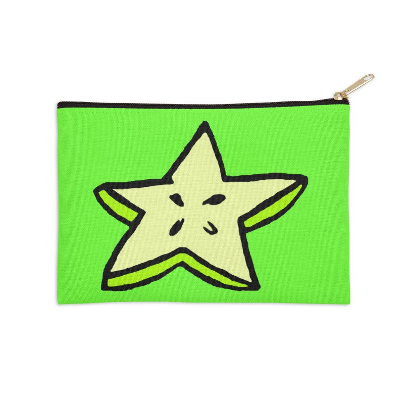 StarFroot Logo Full Color Accessories Zip Pouch by Strange Froots Merch