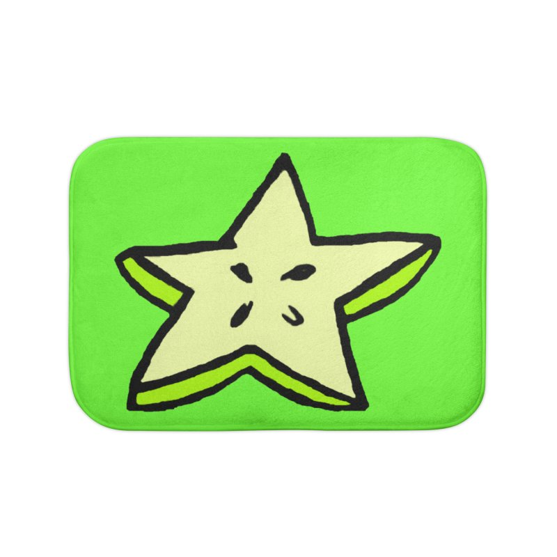 StarFroot Logo Full Color Home Bath Mat by Strange Froots Merch