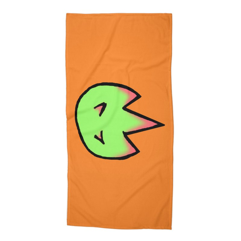 DragonFroot Logo Full Color Accessories Beach Towel by Strange Froots Merch