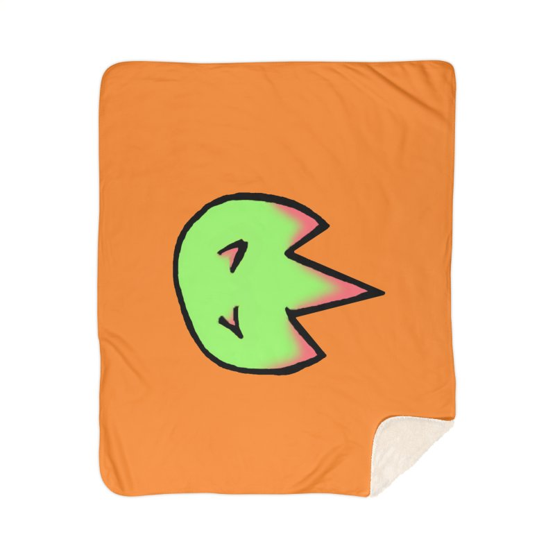DragonFroot Logo Full Color Home Blanket by Strange Froots Merch