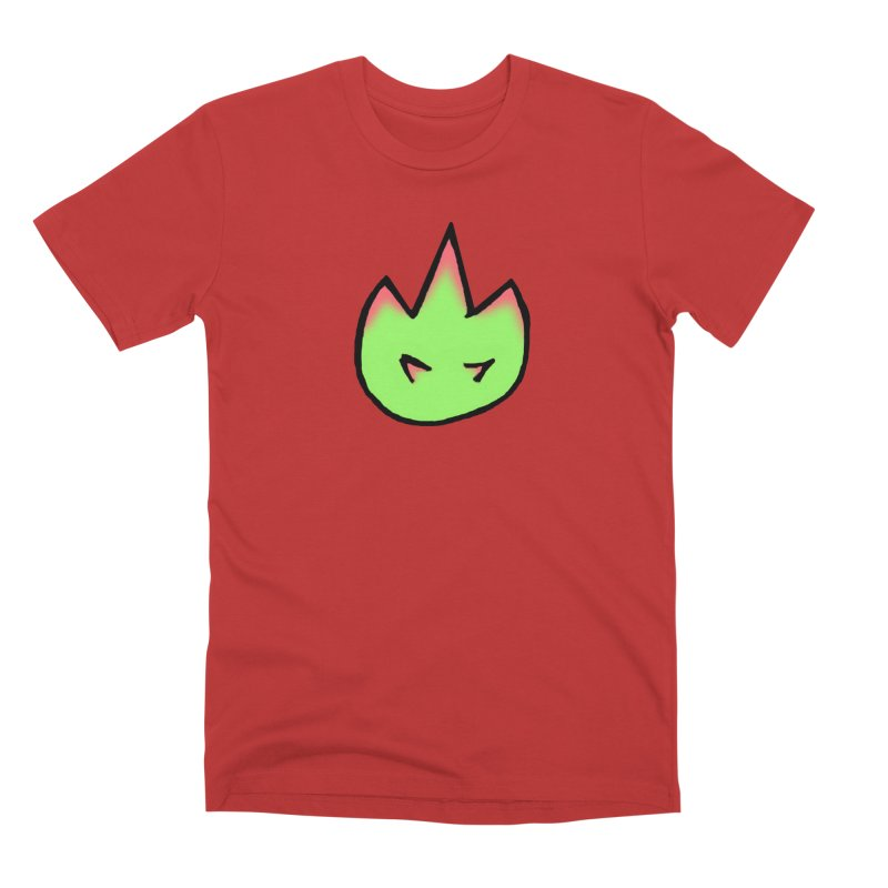 DragonFroot Logo Full Color Men's Premium T-Shirt by Strange Froots Merch