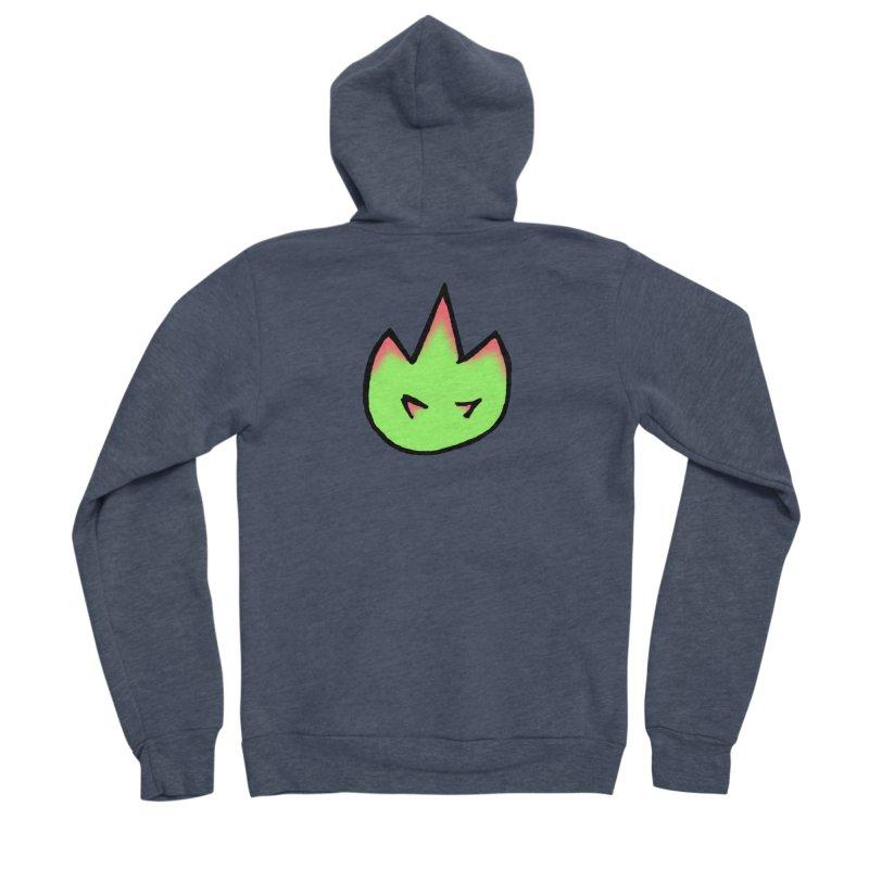 DragonFroot Logo Full Color Men's Sponge Fleece Zip-Up Hoody by Strange Froots Merch