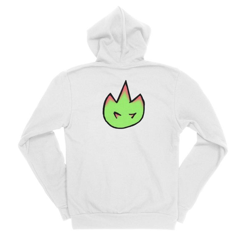 DragonFroot Logo Full Color Women's Sponge Fleece Zip-Up Hoody by Strange Froots Merch