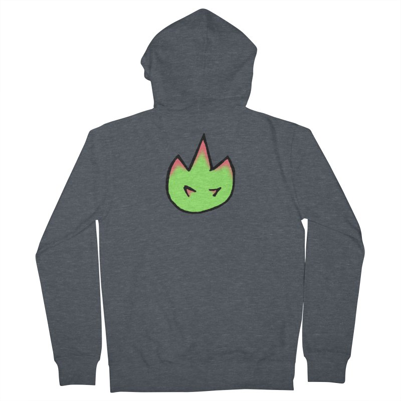 DragonFroot Logo Full Color Women's French Terry Zip-Up Hoody by Strange Froots Merch