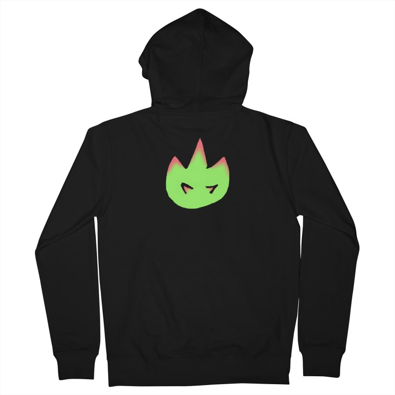 DragonFroot Logo Full Color Men's French Terry Zip-Up Hoody by Strange Froots Merch