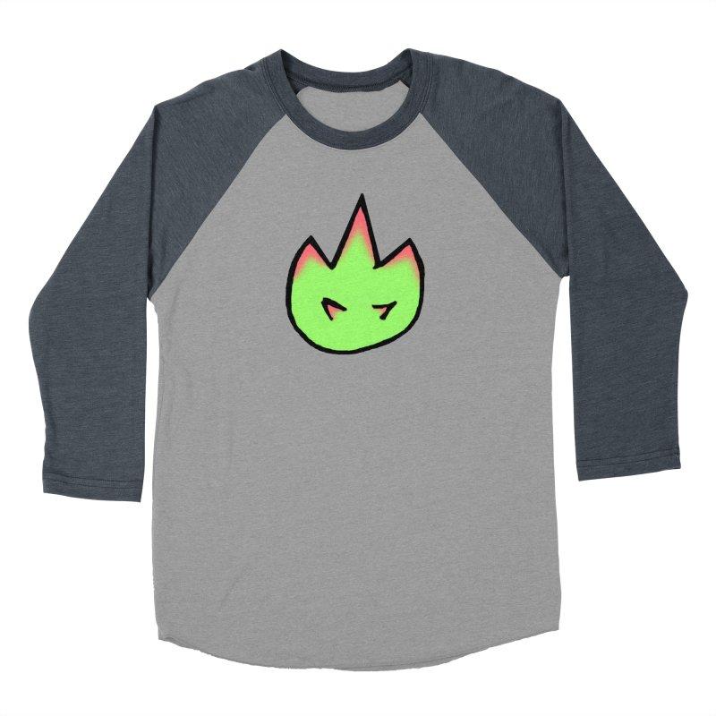 DragonFroot Logo Full Color Men's Baseball Triblend Longsleeve T-Shirt by Strange Froots Merch