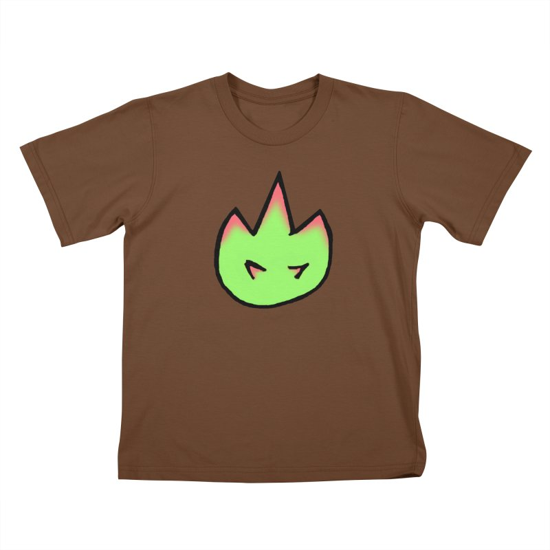 DragonFroot Logo Full Color Kids T-Shirt by Strange Froots Merch