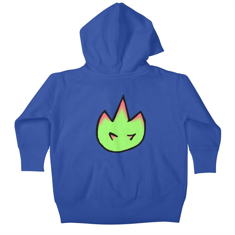 DragonFroot Logo Full Color Kids Baby Zip-Up Hoody by Strange Froots Merch