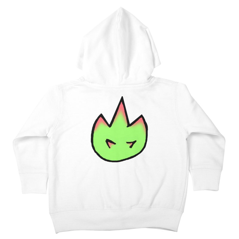 DragonFroot Logo Full Color Kids Toddler Zip-Up Hoody by Strange Froots Merch