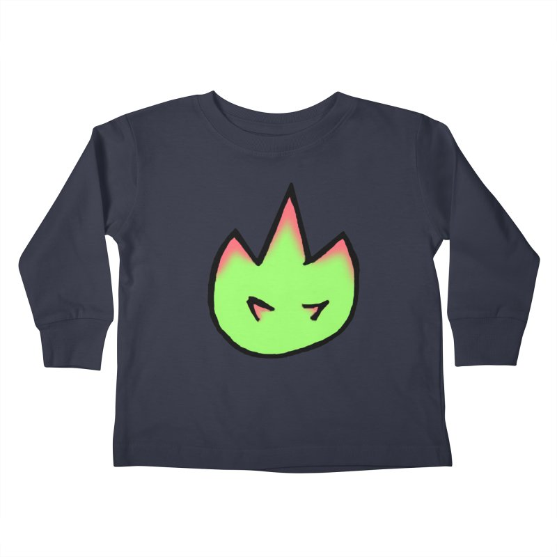 DragonFroot Logo Full Color Kids Toddler Longsleeve T-Shirt by Strange Froots Merch