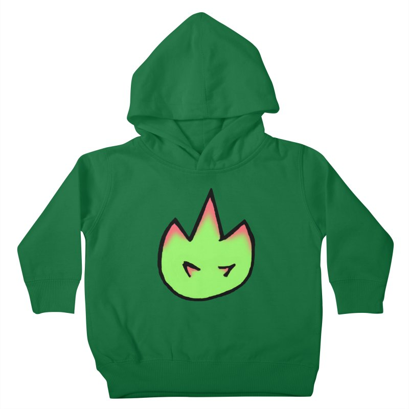 DragonFroot Logo Full Color Kids Toddler Pullover Hoody by Strange Froots Merch