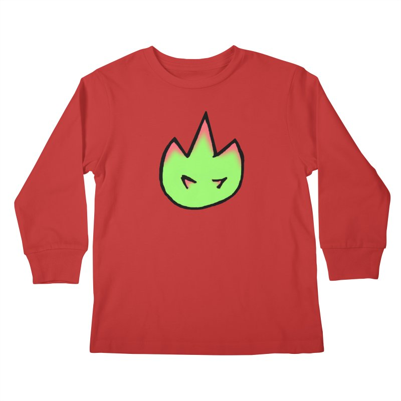 DragonFroot Logo Full Color Kids Longsleeve T-Shirt by Strange Froots Merch
