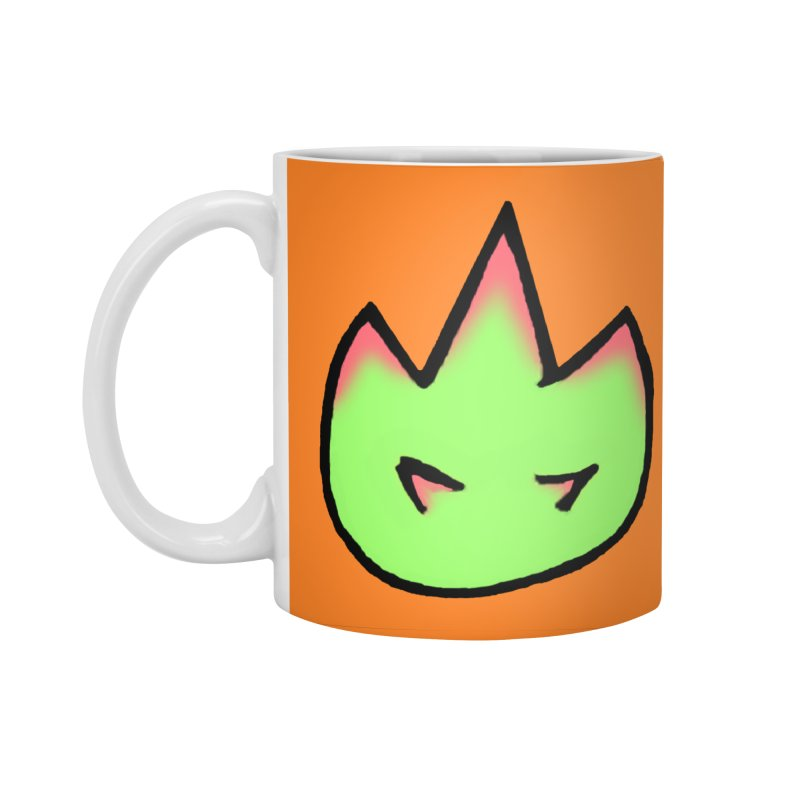 DragonFroot Logo Full Color Accessories Standard Mug by Strange Froots Merch