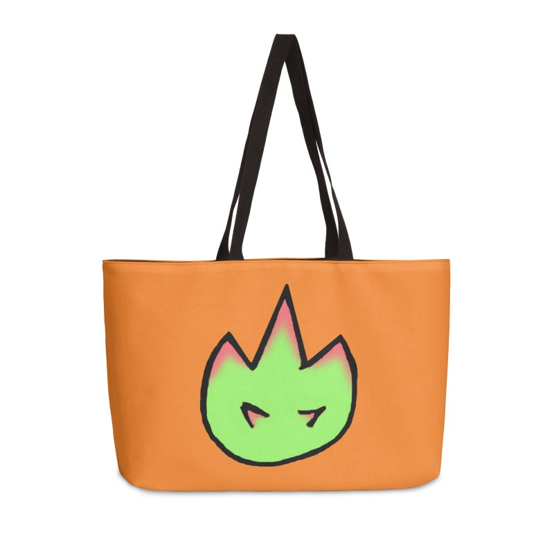 DragonFroot Logo Full Color Accessories Weekender Bag Bag by Strange Froots Merch