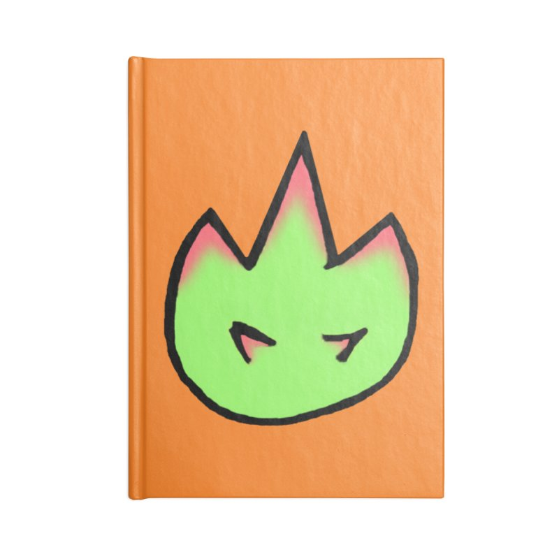 DragonFroot Logo Full Color Accessories Lined Journal Notebook by Strange Froots Merch