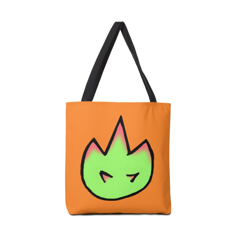 DragonFroot Logo Full Color Accessories Tote Bag Bag by Strange Froots Merch
