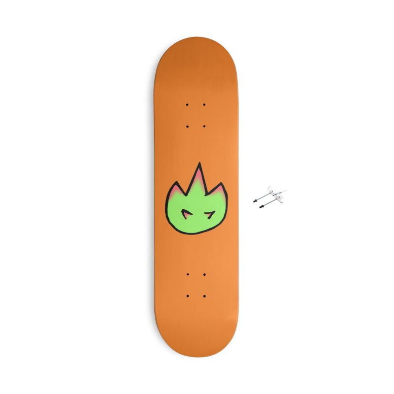 DragonFroot Logo Full Color Accessories With Hanging Hardware Skateboard by Strange Froots Merch