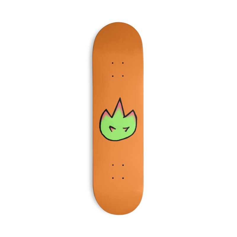 DragonFroot Logo Full Color Accessories Deck Only Skateboard by Strange Froots Merch