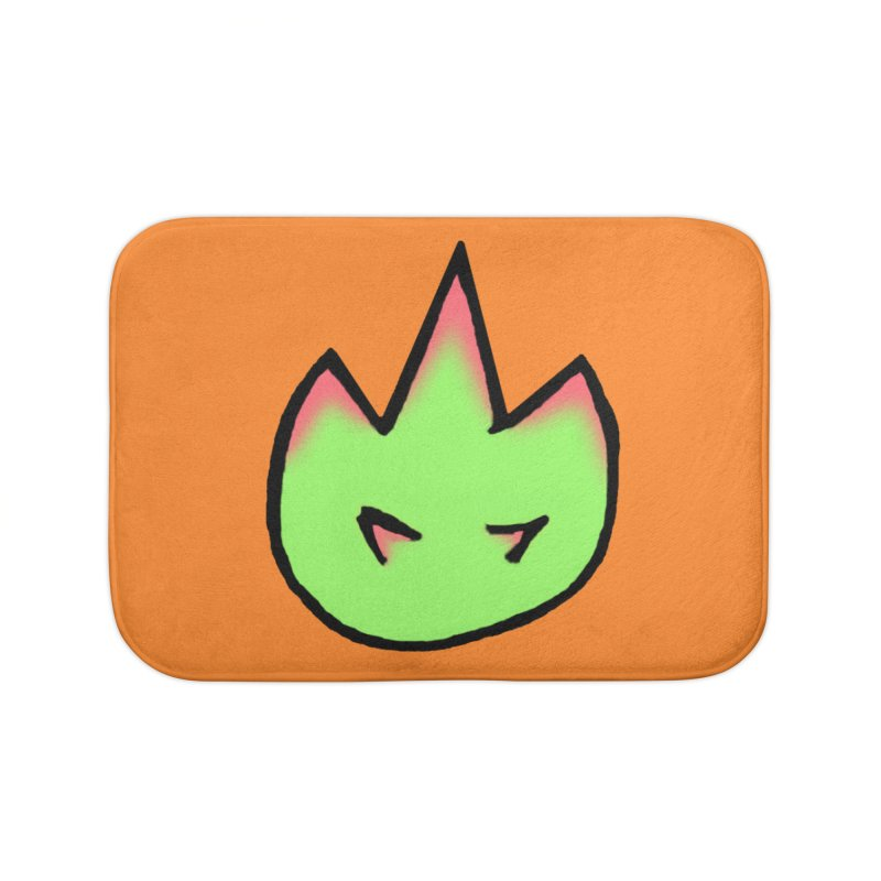 DragonFroot Logo Full Color Home Bath Mat by Strange Froots Merch