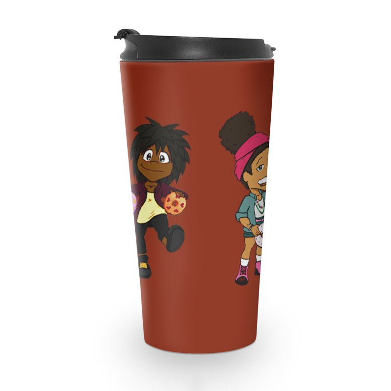 Strange Froots Chibis Accessories Travel Mug by Strange Froots Merch