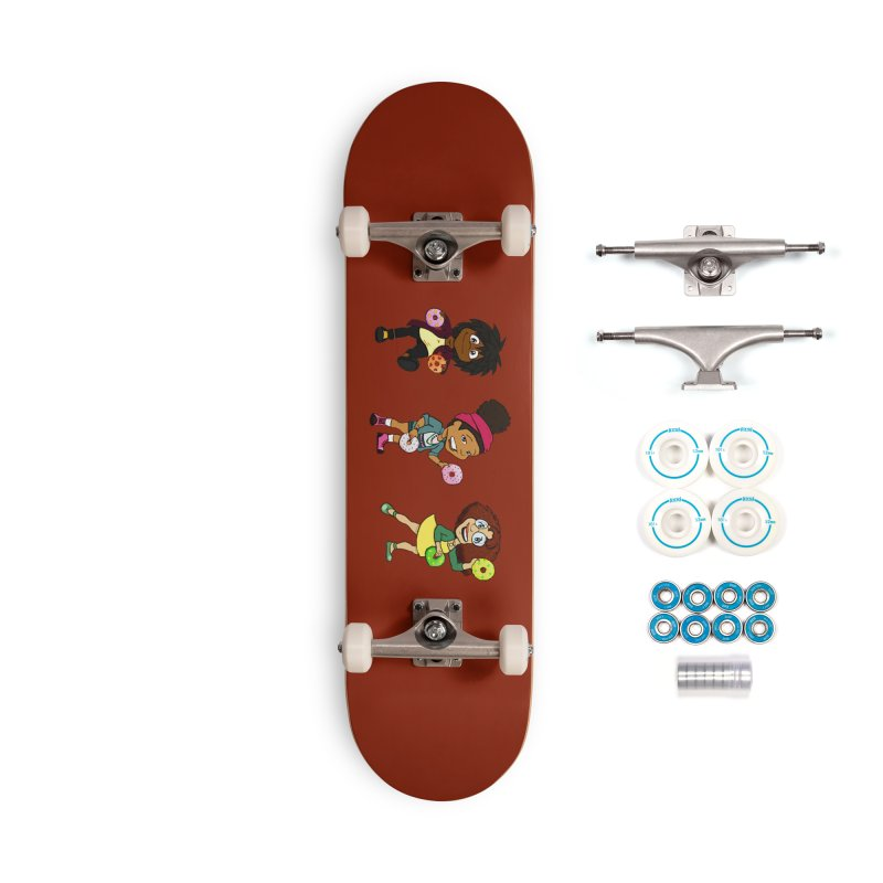 Strange Froots Chibis Accessories Complete - Basic Skateboard by Strange Froots Merch