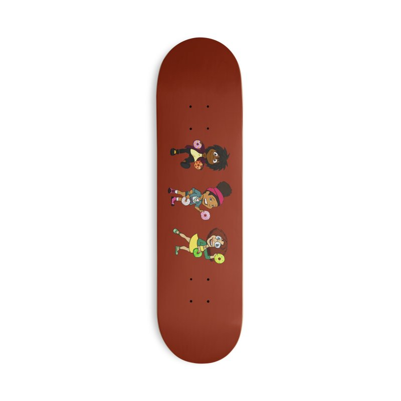 Strange Froots Chibis Accessories Deck Only Skateboard by Strange Froots Merch