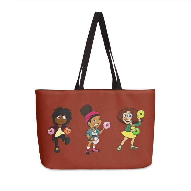 Strange Froots Chibis Accessories Weekender Bag Bag by Strange Froots Merch