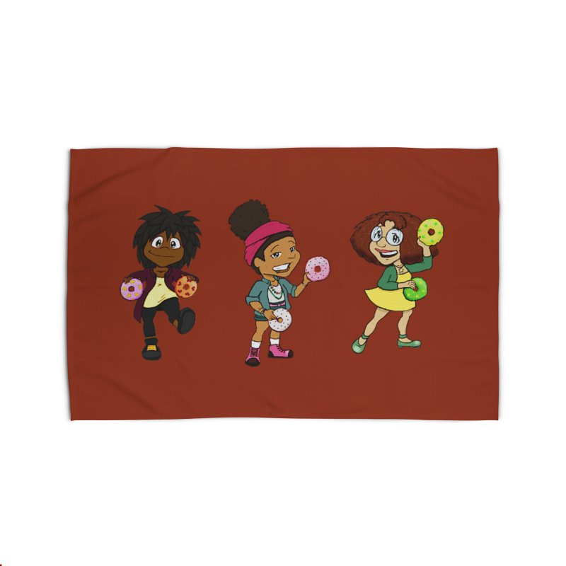 Strange Froots Chibis Home Rug by Strange Froots Merch