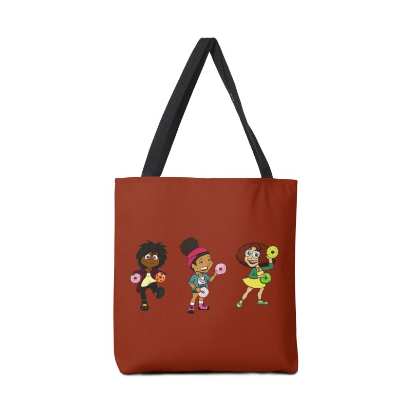 Strange Froots Chibis Accessories Tote Bag Bag by Strange Froots Merch