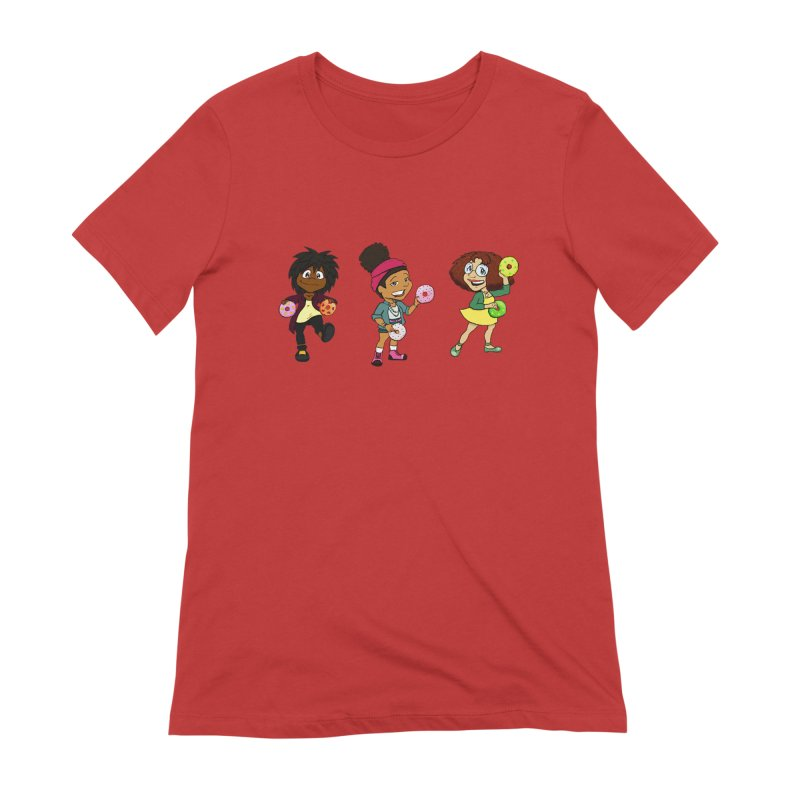 Strange Froots Chibis Women's Extra Soft T-Shirt by Strange Froots Merch