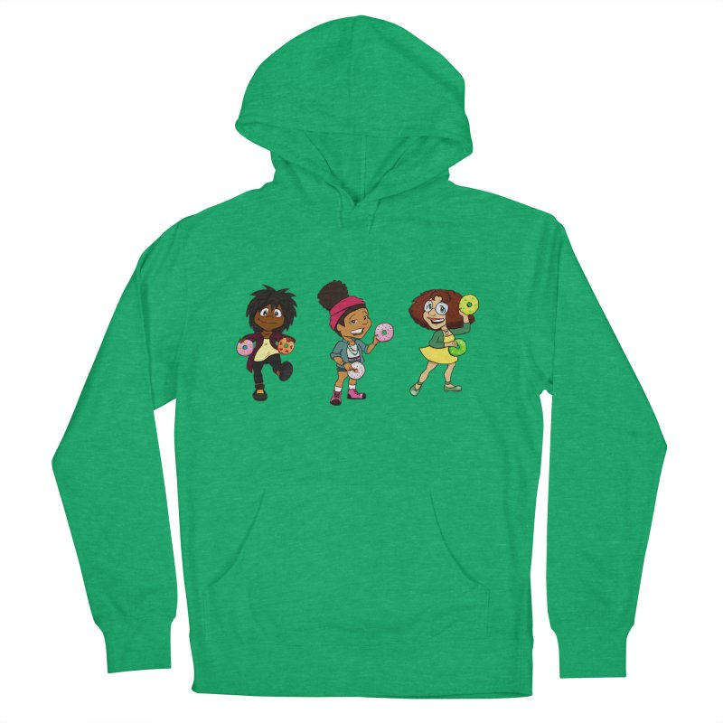Strange Froots Chibis Women's French Terry Pullover Hoody by Strange Froots Merch