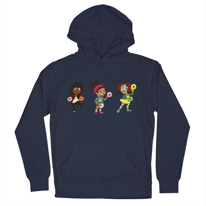 Strange Froots Chibis Men's French Terry Pullover Hoody by Strange Froots Merch